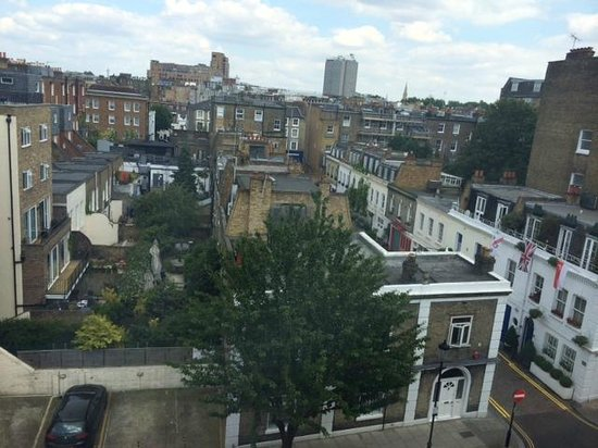 Templeton Place Aparthotel: View from the apartment