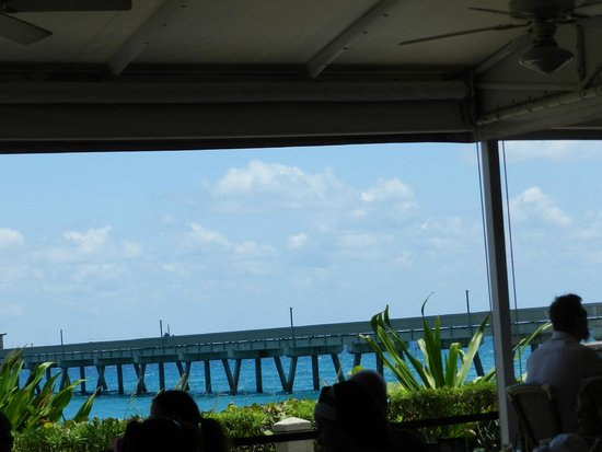 JB's On The Beach: Pier view from the restaurant