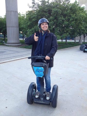 Steve's Segway Tours: Up and at 'em