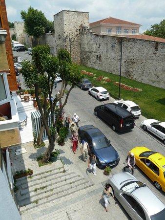 Turkish Marbling - Ebru Classes: View from studio window