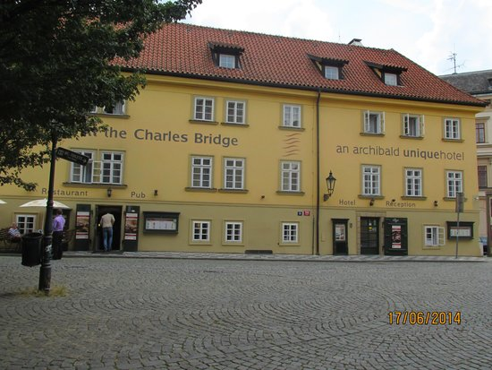 Archibald At the Charles Bridge: The hotel Exterior