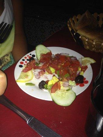 Cafe de France: Salade marocaine