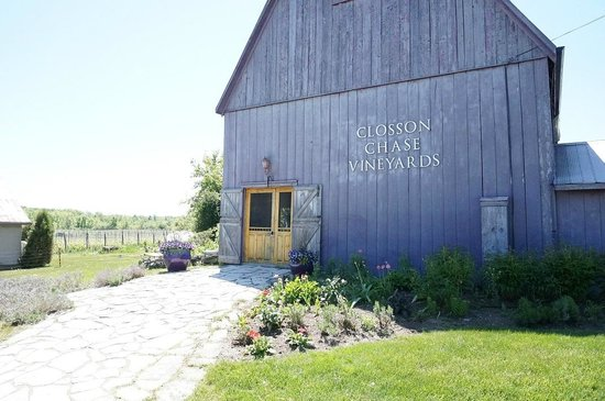 Prince Edward County Wine and Culinary Tours: Closson Chase front