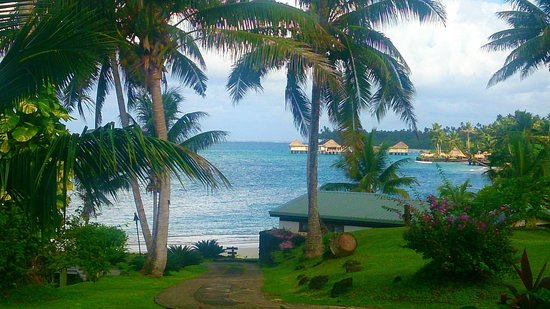 Sinalei Reef Resort & Spa : View from breakfast area