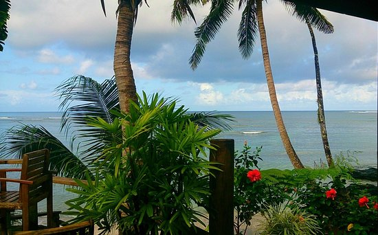 Sinalei Reef Resort & Spa: View from the gym!