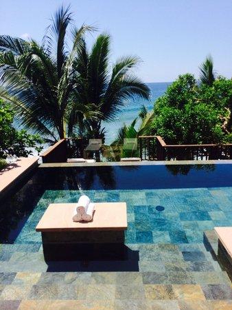 Imanta Resort: Our pool