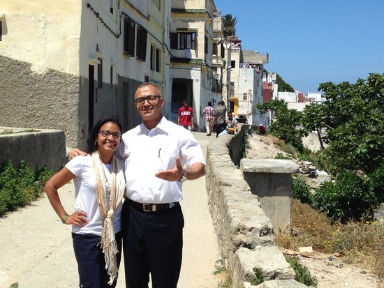 Tangier Tours - Day Tours: My buddy Abdel!