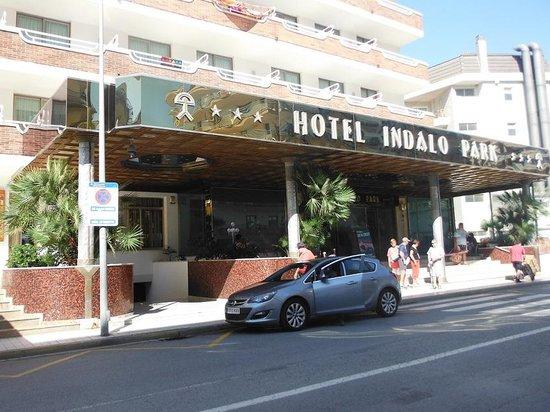 Hotel Indalo Park : Крылечко