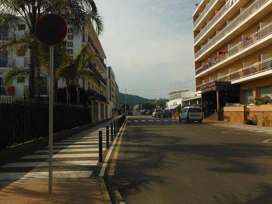 Hotel Indalo Park: Соседние улицы