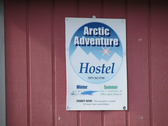 Arctic Adventure Hostel: Sign