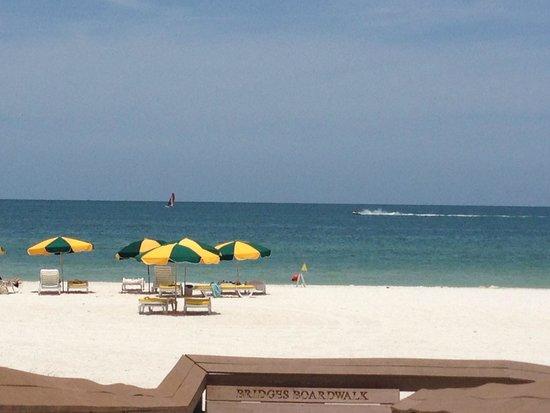 The Charter Club of Marco Beach: the beach