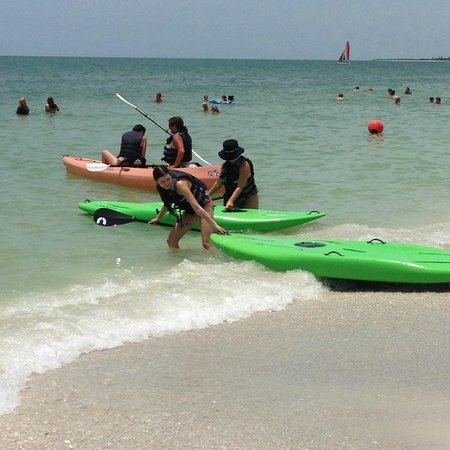 The Charter Club of Marco Beach: paddle boarding