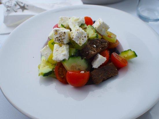 Astra Suites: Greek salad room service