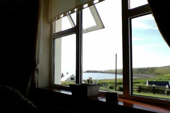 Crag Shore B&B: The view from my room