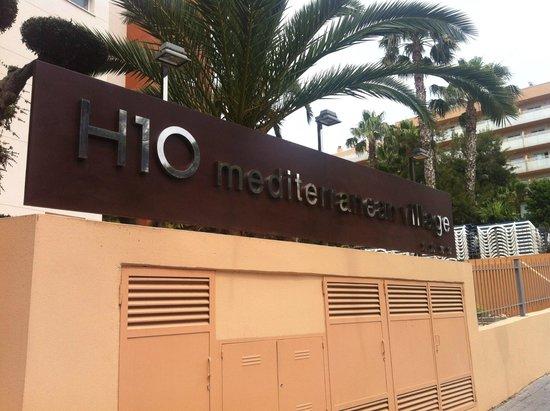 H10 Mediterranean Village : Main entrance.