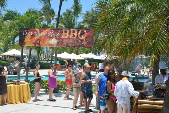 "Dreams Palm Beach Punta Cana: ""BBQ"""