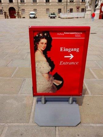 Hofburg: entrada