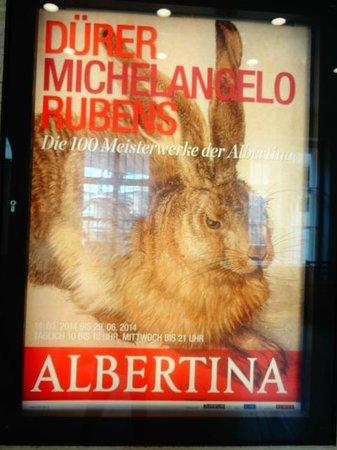 Albertina : entrada