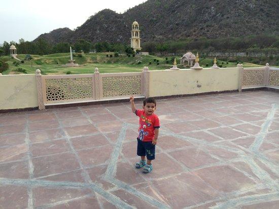 Rajasthali Resort and Spa : Ma uzi