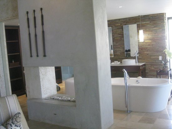 Kapama Southern Camp: Bathroom view in villa