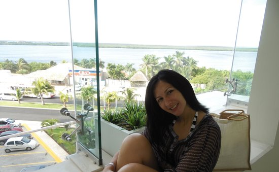 Sun Palace: Vista de laguna desde Nivel Conciergue