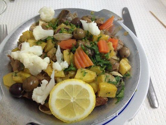 O Cantinho de Sao Jose: Porco alentjano (pork with clams)