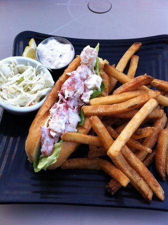 Seaport Fish: Lobster roll