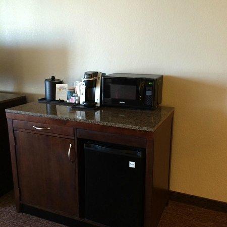 Hilton Garden Inn Toledo Perrysburg : Microwave/Fridge