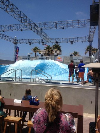 Mission Beach: Nearby Wave House Restaurant