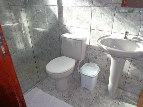 Pantaneira Pousada: Banheiro