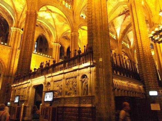Catedral de Barcelona : Barcelona, España, Catedral de Santa Eulàlia.
