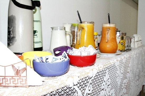 Pantaneira Pousada: Café da manhã