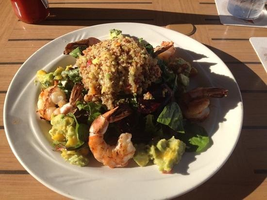 Doc Ford's Rum Bar & Grille Ft. Myers Beach: Quinoa Salad...yummy!