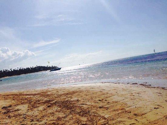 Grand Bahia Principe El Portillo : La playa del hotel