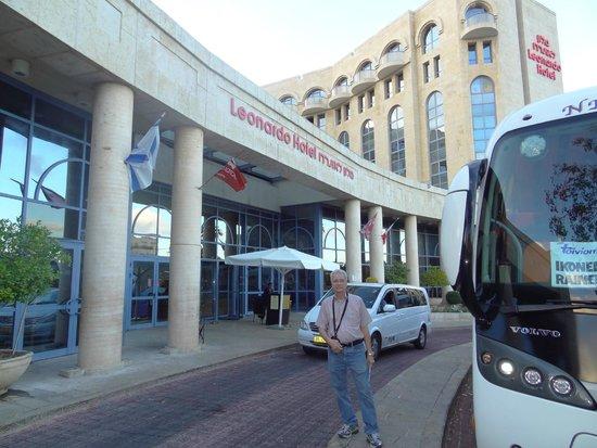 Leonardo Hotel Jerusalem: Fachada do hotel