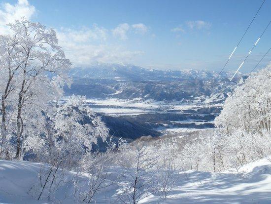 Nozawa Onsen Ski Resort: Great views from the mountains