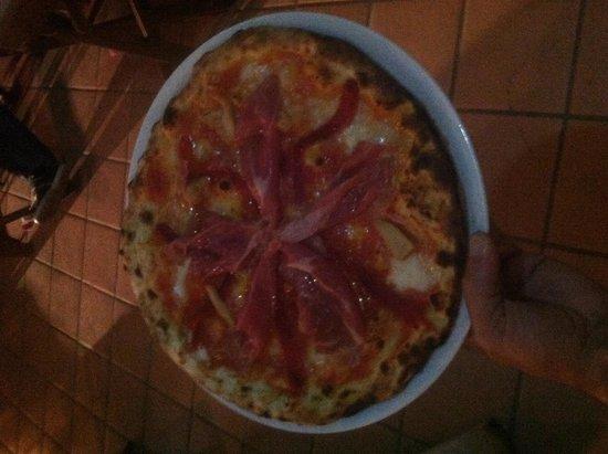 Pizzeria Napoletana Grand Case : Prosciutto e peperoni
