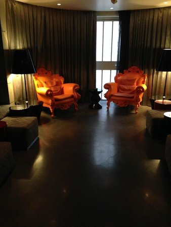 Art'otel Amsterdam: Smoke room
