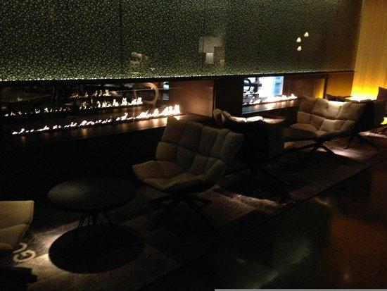 Art'otel Amsterdam: Lounging room