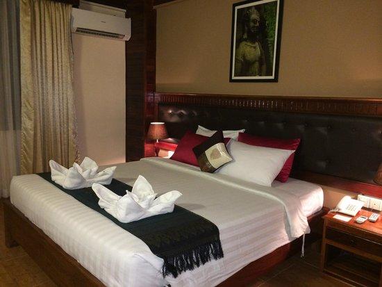 Angkor Pearl Hotel : Bedroom