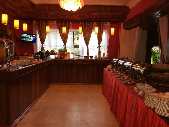 Angkor Pearl Hotel : Breakfast buffet