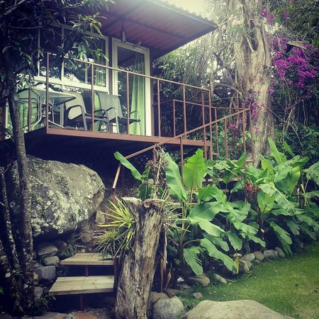 Hostal Garden by Refugio del Rio: Our room (#1 I think)