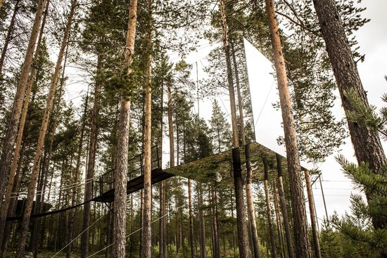 Harads, Suède : Invisi-treehouse