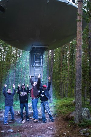 Treehotel : UFO with added effects