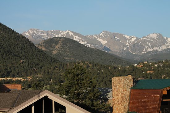 BEST WESTERN PLUS Silver Saddle Inn: From our room - breathtaking morning view