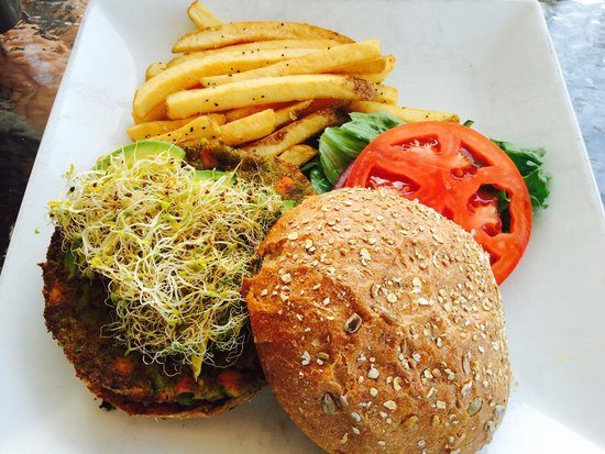 Waterfront Restaurant: House Made Veggie Burger