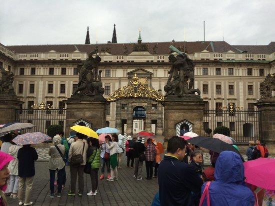 Castle District : Castello di Praga