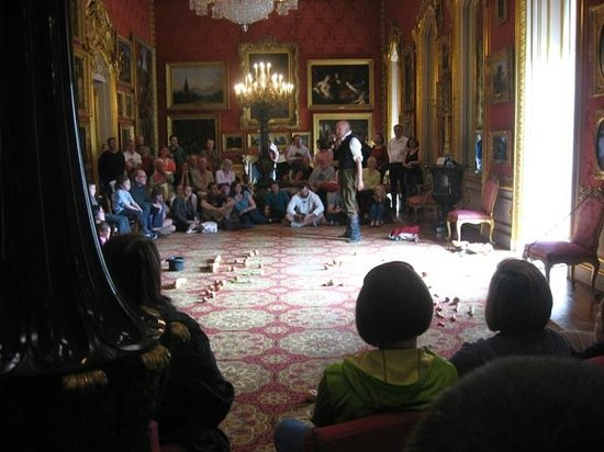 Apsley House : The Battle of Waterloo - with vegetables!