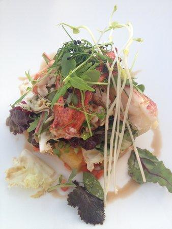 Hotel Nixe Palace : lobster salad