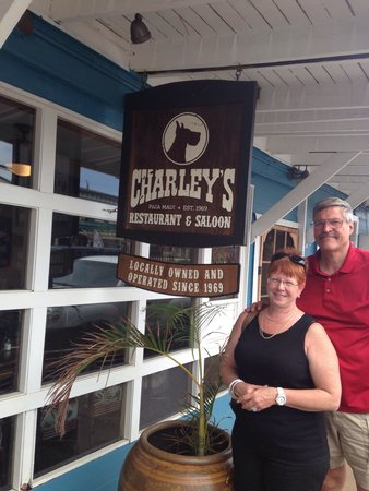 Charley's Restaurant: Never know who you may run into?